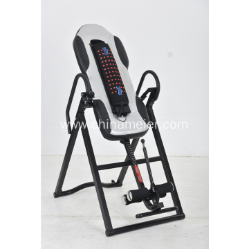 thick steel inversion table with massage&heat function